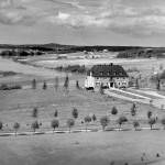 L'évêché d'Amos vers 1950. SHA – Fonds Société d'histoire d'Amos