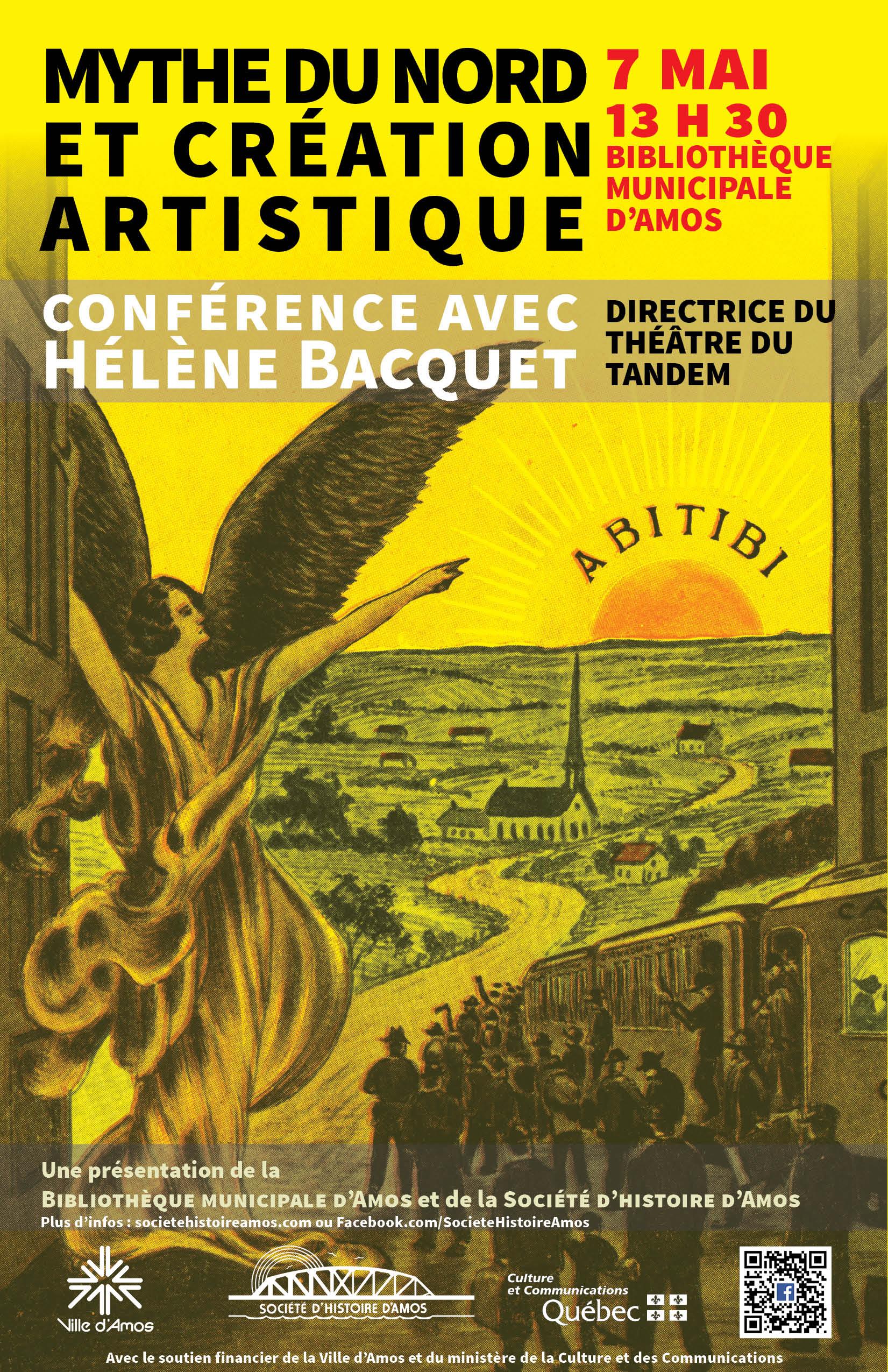 Mythe du Nord et création artistique. Conférence avec Hélène Bacquet