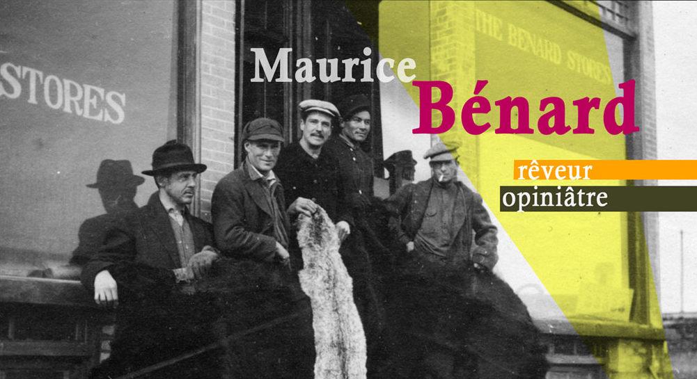 Carton promotionnel de l'exposition «Maurice Bénard, rêveur opiniâtre»