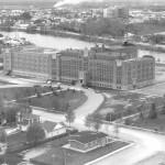 L'École normale Assomption en 1967. SHA - Fonds Chambre de commerce d'Amos