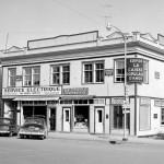 La Caisse populaire d'Amos en 1955. SHA – Coll. Société d'histoire d'Amos