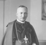 Mgr Joseph-Aldée Desmarais, premier évêque du diocèse d'Amos SHA – Coll. Ville d'Amos