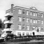 L'hôpital d'Amos dans les années 1930. SHA - Fonds Studio Morasse / H. Dudemaine